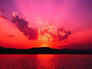 赤い夜明け
